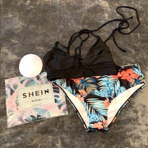 SHEIN high waisted bikini